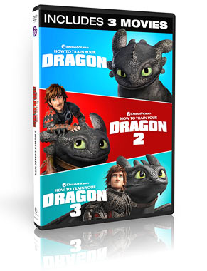How To Train Your Dragon 3 Movie Collection