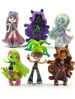 فیگور 6 تکه Monster High
