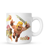لیوان Clash of Clans طرح دوم