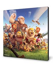 شاسی Clash of Clans طرح اول