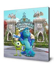 شاسی Monsters University طرح دوم